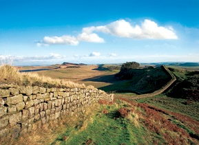View of Hadrian's Wall